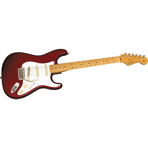 Fender American Vintage Hot Rod '57 Stratocaster Electric Guitar Candy Apple Red