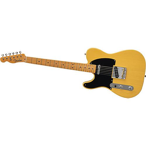 Fender American Vintage Series '52 Telecaster Left-Handed Electric Guitar Butterscotch Blonde