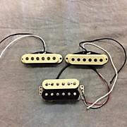 Fender American Zebra HSS Strat Pro Pickups Only Guitar Pickup