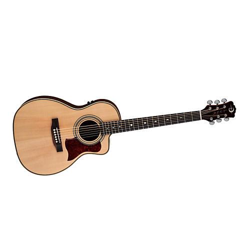 Luna Guitars Americana Classic AMP 100 Parlor Cutaway Acoustic-Electric Guitar