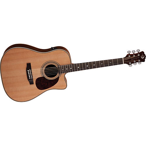 Luna Guitars Americana Classic Cutaway Acoustic-Electric Guitar-thumbnail