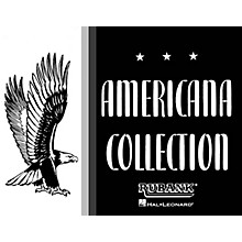 Rubank Publications Americana Collection for Band (1st Alto Saxophone) Concert Band Composed by Various