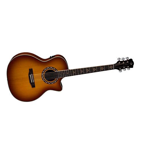 Luna Guitars Americana Inspired AMZ 100 Zia Acoustic-Electric Guitar-thumbnail