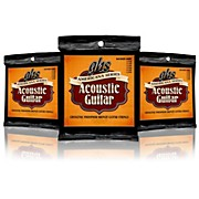 GHS Americana Light Acoustic Guitar Strings (12-54) - 3 Pack