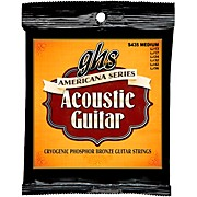 GHS Americana Light Acoustic Guitar Strings (13-56)