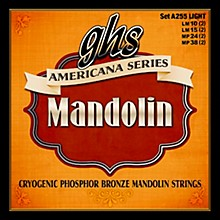 GHS Americana Light Mandolin Strings (10-38)