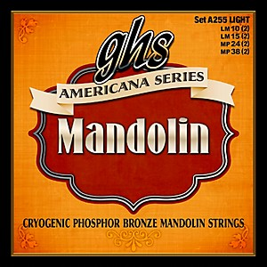 GHS Americana Light Mandolin Strings 10-38 by GHS