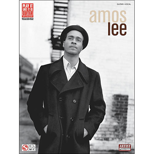 Cherry Lane Amos Lee Tab Book-thumbnail