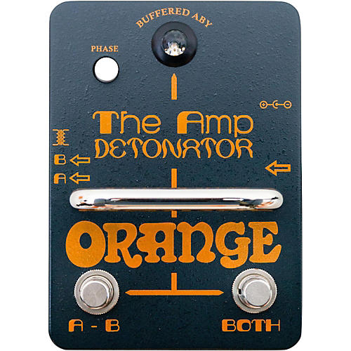 Orange Amplifiers Amp-Detonator ABY Amp Switcher Guitar Pedal-thumbnail