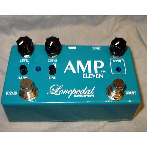 Lovepedal Amp Eleven Overdrive Boost Effect Pedal-thumbnail