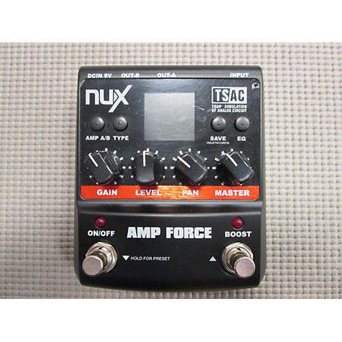 In Store Used Amp Force Effect Pedal