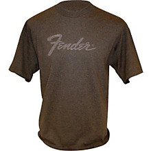Fender Amp Logo T-Shirt Charcoal Large