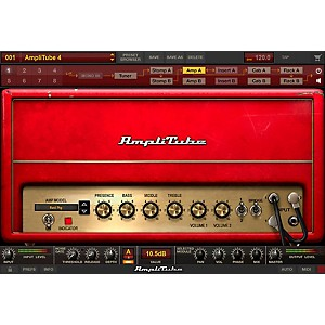 IK Multimedia AmpliTube 4 Fender Power DUO Bundle