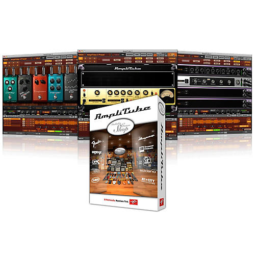 IK Multimedia AmpliTube CS + 20 Gear Credits Software Download-thumbnail