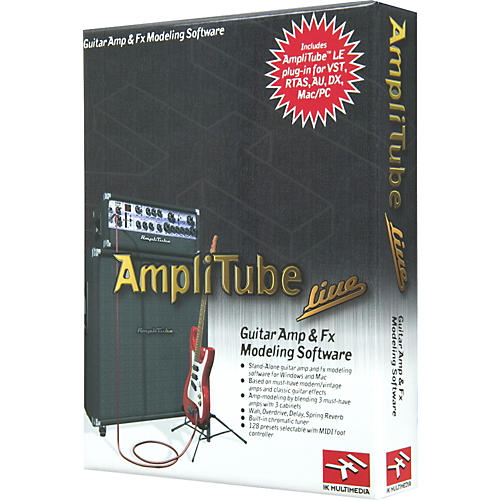 IK Multimedia AmpliTube Live