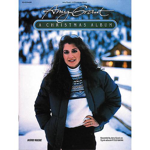 Word Music Amy Grant - A Christmas Album Book