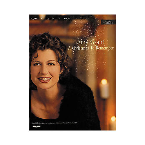 Word Music Amy Grant - A Christmas to Remember Book