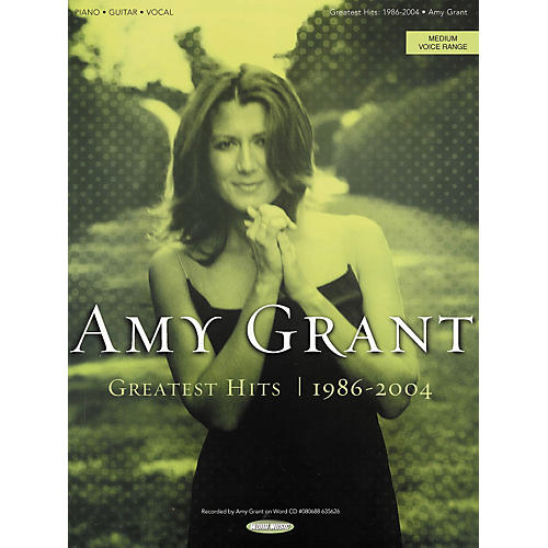 Hal Leonard Amy Grant - Greatest Hits 1986-2004 Piano/Vocal/Guitar Songbook-thumbnail