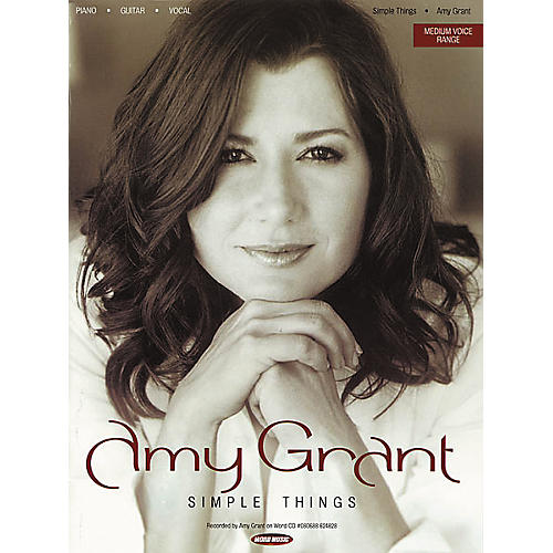 Word Music Amy Grant - Simple Things Piano, Vocal, Guitar Songbook-thumbnail