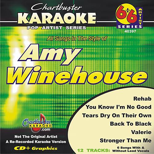 Chartbuster Karaoke Amy Winehouse Karaoke CD+G-thumbnail