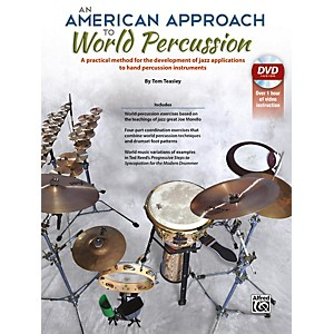 Alfred An American Approach to World Percussion Book and DVD by Alfred