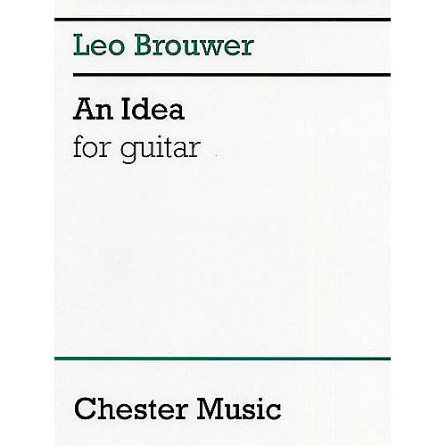 Chester Music An Idea for Guitar Music Sales America Series