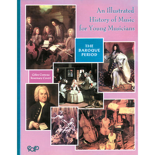 Alfred An Illustrated History of Music for Young Musicians, Baroque Music (Book)-thumbnail
