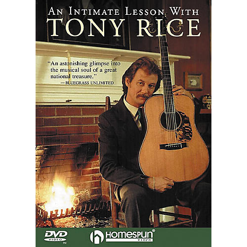 Homespun An Intimate Lesson with Tony Rice (DVD)-thumbnail