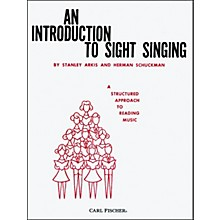 Carl Fischer An Introduction To Sight Singing