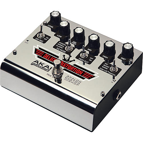 Akai Professional Analog Custom Shop Deluxe Distortion Guitar Effects Pedal-thumbnail
