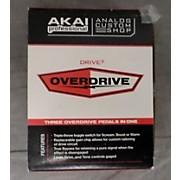 Akai Professional Analog Custom Shop Drive3 Tri-Mode Overdrive Effect Pedal