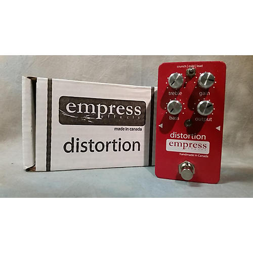 Empress Effects Analog Distortion Effect Pedal-thumbnail