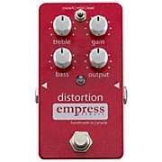 Empress Effects Analog Distortion Guitar Effects Pedal