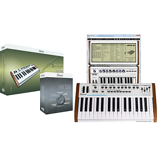 Arturia Analog Experience, The Factory + THE ONE bundle-thumbnail