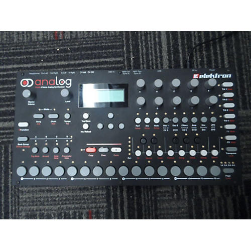 used elektron analog four tabletop synthesizer synthesizer guitar center. Black Bedroom Furniture Sets. Home Design Ideas