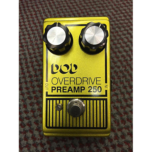 DOD Analog Overdrive Preamp 250 Effect Pedal-thumbnail
