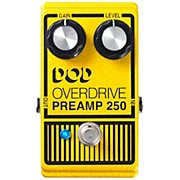 Analog Overdrive Preamp 250 Guitar Effects Pedal with True-Bypass and LED
