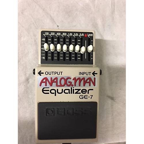 Boss Analogman GE7 Pedal