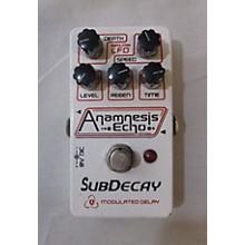 Subdecay Anamnesis Echo Effect Pedal
