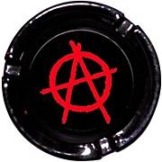 C&D Visionary Anarchy Logo Glass Ashtray