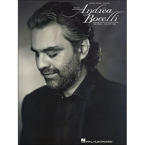 Hal Leonard Andrea Bocelli Song Album arranged for piano, vocal, and guitar (P/V/G)-thumbnail