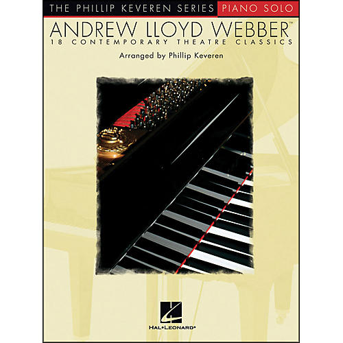 Hal Leonard Andrew Lloyd Webber - 18 Contemporary Theatre Classics Piano Solos By Phillip Keveren
