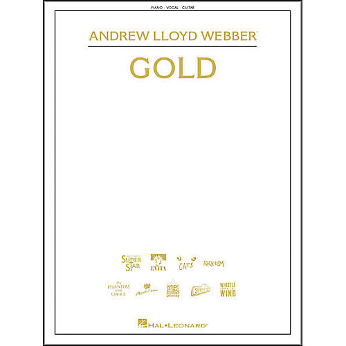 Hal Leonard Andrew Lloyd Webber - Gold Piano/Vocal/Guitar Songbook