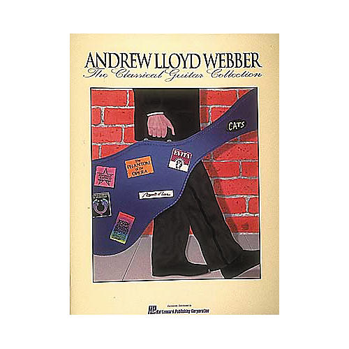 Hal Leonard Andrew Lloyd Webber - The Classical Guitar Collection-thumbnail