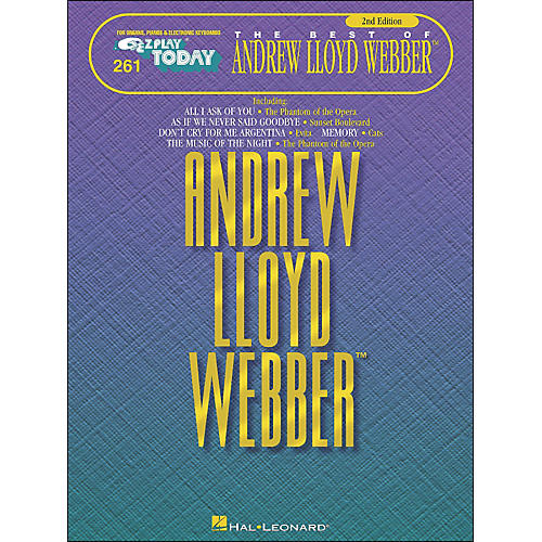 Hal Leonard Andrew Lloyd Webber 2nd Edition E-Z Play 261