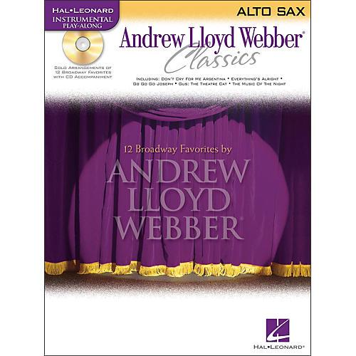 Hal Leonard Andrew Lloyd Webber Classics Alto Sax Book/CD