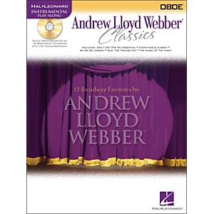 Hal Leonard Andrew Lloyd Webber Classics for Oboe Book/CD by Hal Leonard