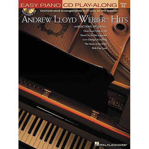 Hal Leonard Andrew Lloyd Webber Hits - Easy Piano CD Play-Along Volume 22 Book/CD-thumbnail