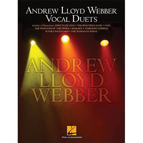 Hal Leonard Andrew Lloyd Webber Vocal Duets-thumbnail