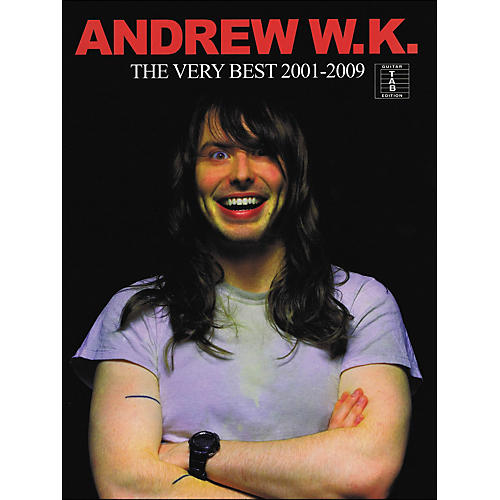 Hal Leonard Andrew W.K. - The Very Best 2001-2009 Tab Book